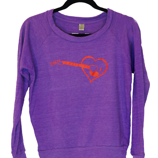 MIM purple pullover Vanity Project Clothing on Designed Good Donates 51% to Causes