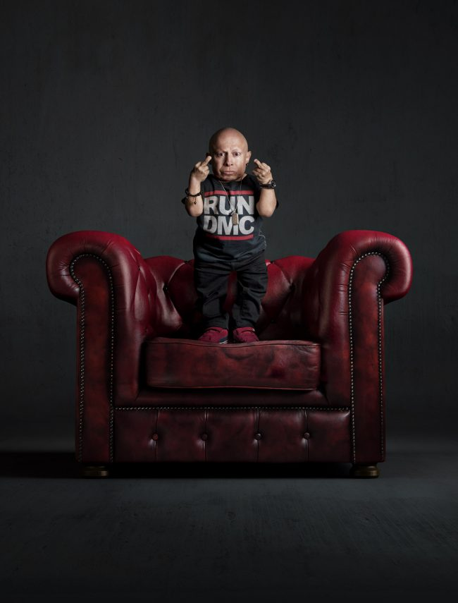 MiniMe red chairv4 650x855 Celebrities   2: Mike Campau & Paul Mobley