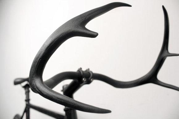 Moniker 2 Deer antler handlebar by Taylor Simpson