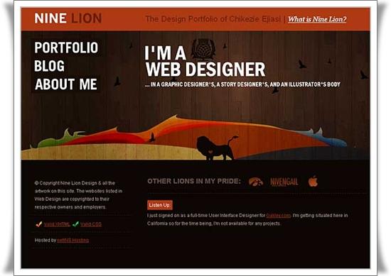 Nine Lion Design Best Website Designs