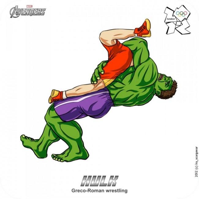 Olympic Avengers Hulk 750x750 650x650 Olympic Avengers