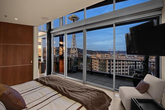Penthouse Loft in Seattle 7 650x433 Penthouse Loft in Seattle