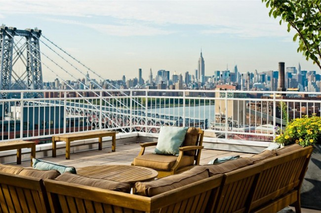 Penthouse with Panoramic Views in Brooklyn 8 650x432 Penthouse with Panoramic Views in Brooklyn