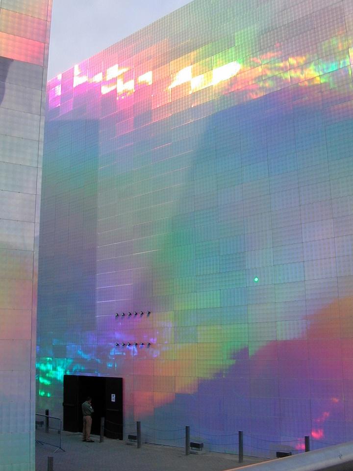 QuantumFieldX301 Holographic Cubes Reflect Dazzling Spectrum of Colors