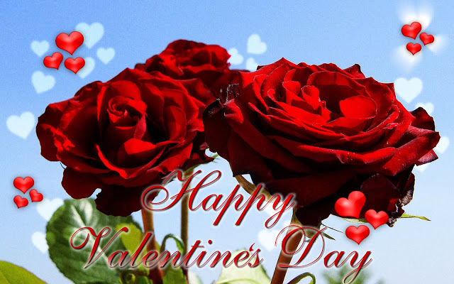 Red Roses Valentines Day ecard Special eCards