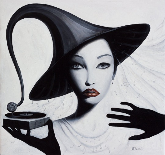 a 32 Surreal Paintings by Adrian Borda