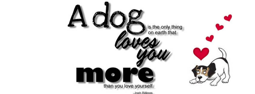 a dog loves you fb timeline cover Different Covers For All Of You