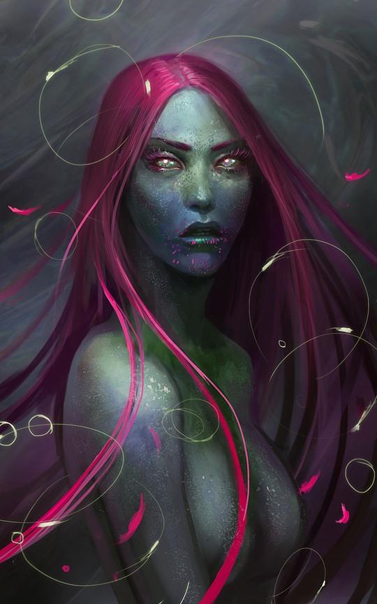 i 111 Stunning Fantasy Illustrations by Sandra Duchiewicz