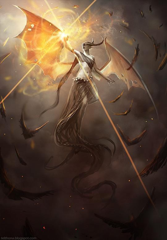 i 211 Stunning Fantasy Illustrations by Sandra Duchiewicz