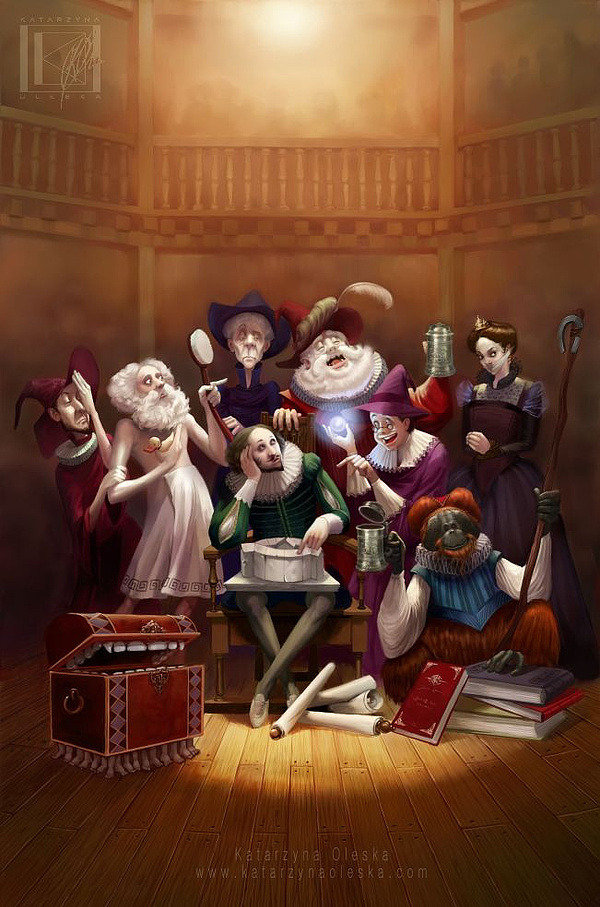 il 1 Character Illustrations by Katarzyna Oleska
