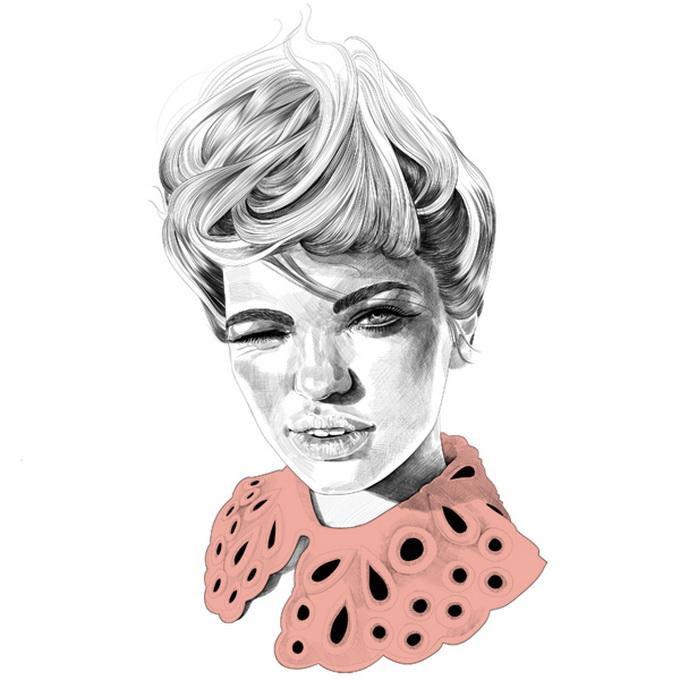 mustafa soydan fashion illustrations 1 600x613 Illustrator Mustafa Soydan