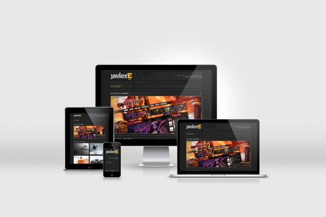 responsive je 1 650x433 Javier Españas New Responsive Website