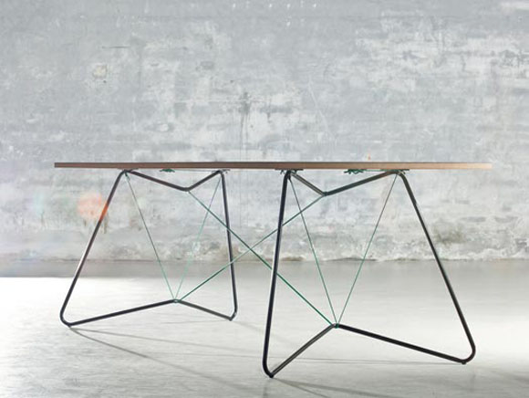 table string 1 Table on a string by OK design