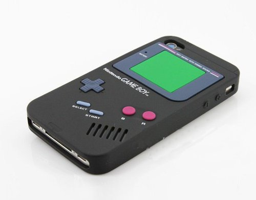 tumblr mg85xhPyMc1qiqf01o1 500 Game Boy iPhone 4 Case