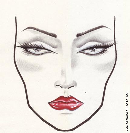 Bianca Raffaela makeup concept 091 Makeup Concepts   Face Charts Nr. 8 and 9