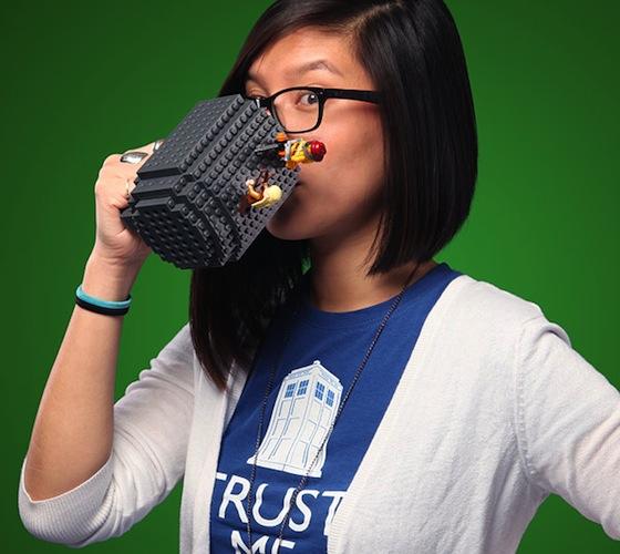 Build On Brick Mug  Build On Brick Mug