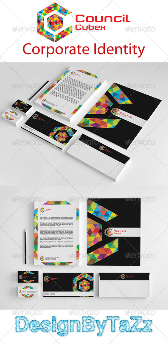 Council Love Corporate Identity Package 15 Damn New Office Stationery