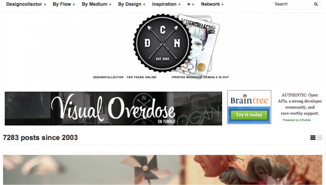 Designcollector 650x370 Art & Design Blogs to Follow in 2013
