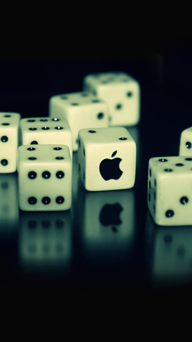 Dices And Apple Dices iPhone 5 Wallpaper 15 Awe Inspiring Wallpapers of IPhone 5