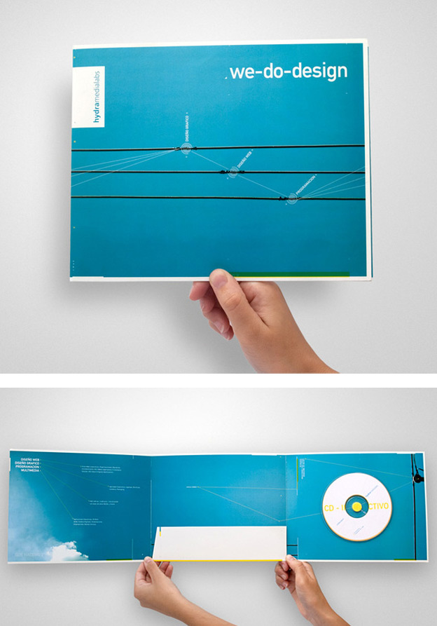 Folder 26  30+ Creative Presentation Folder Designs