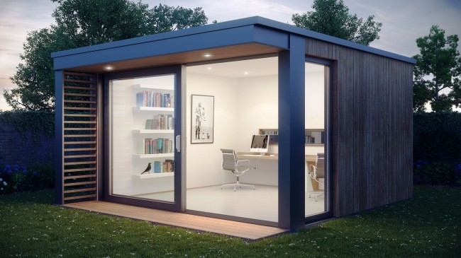 Garden Pod 650x365 Mini Pod, Garden Office