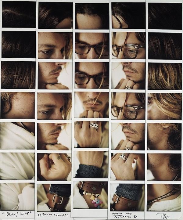 Maurizio Galimberti 1 Maurizio galimbertis Celebrity Polaroid Portraits