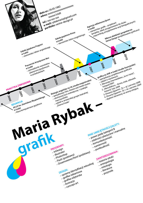 Most Creative Resumes of All Times 7 50 Most Creative Resume Designs of All Times