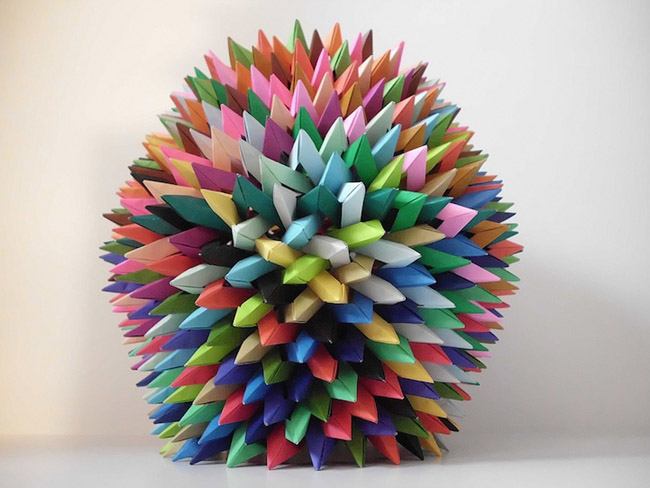 Paper Art by Byriah Loper  Art Of Origami By Byriah Loper