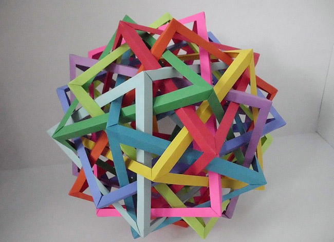 Paper Art by Byriah Loper 3 Art Of Origami By Byriah Loper