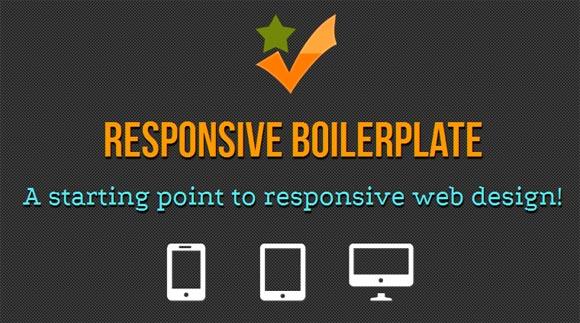 Responsive Boilerplate Framework Micro Framework for Responsive CSS3 Grid System : Responsive Boilerplate