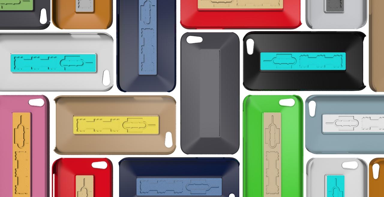 SIMPLi5 Rendering Colors Mondrian.2471 SIMPLcase™ ~ Minimalist iPhone Case for Travelers   now on Kickstarter