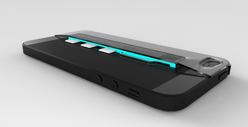 SIMPLi5 Section Rendering 1371 SIMPLcase™ ~ Minimalist iPhone Case for Travelers   now on Kickstarter