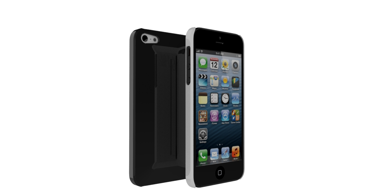 SIMPLi5 front to back2 SIMPLcase™ ~ Minimalist iPhone Case for Travelers   now on Kickstarter