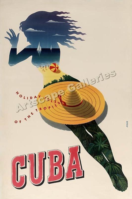 Vintage Cuba Travel Posters 1 Vintage Cuba Travel Posters