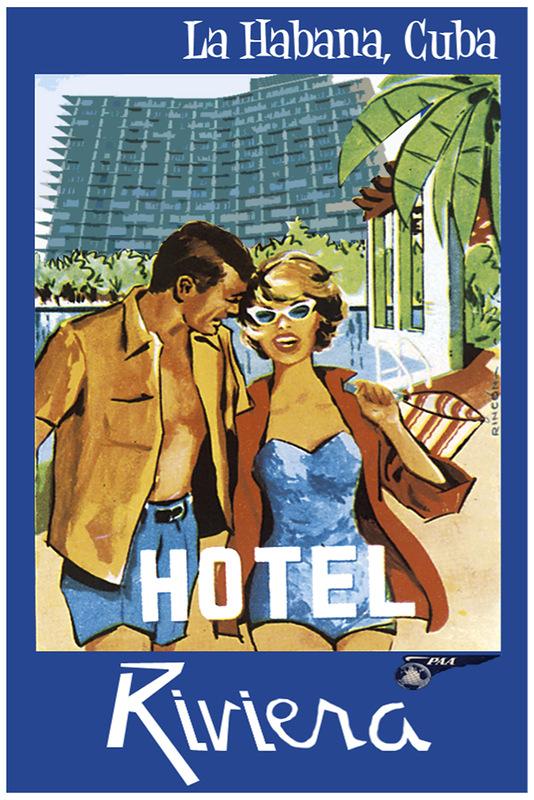 Vintage Cuba Travel Posters 3 Vintage Cuba Travel Posters