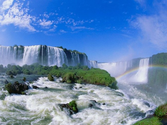 Wonderful Waterfalls  650x487 Wonderful Waterfalls Around The World