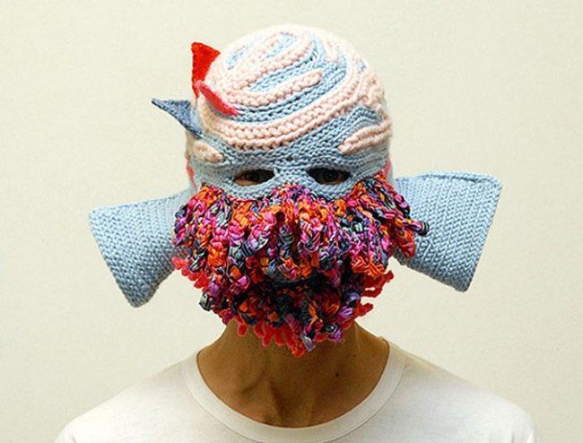 aldo lanzini mask01 676x5141 650x494 Masks by Aldo Lanzini