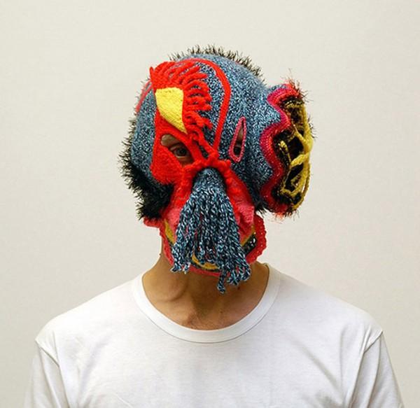 aldo lanzini mask04 600x583 Masks by Aldo Lanzini