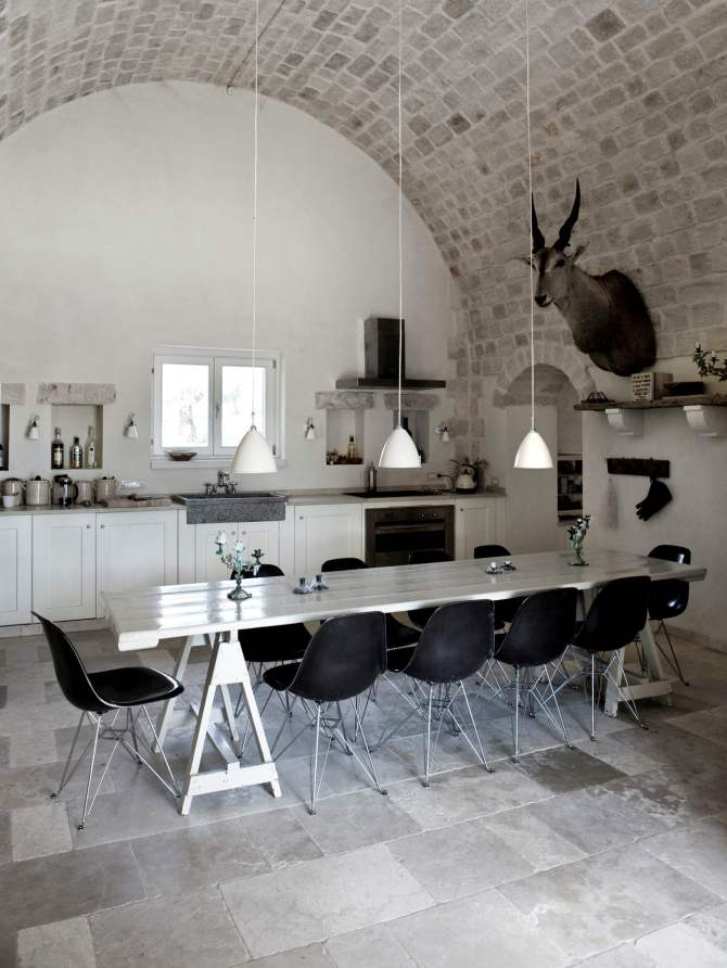 appulien TOP INSPIRING VINTAGE KITCHENS