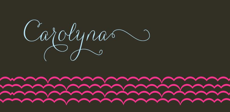carolyna 2 1 Carolyna Font