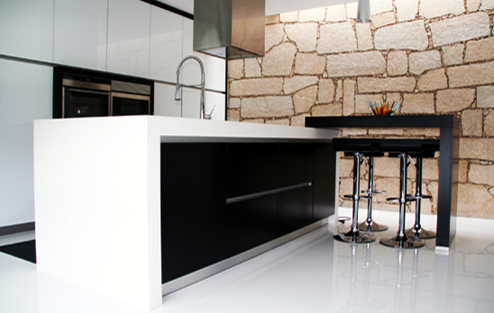 cozinha front1 Creative Kitchens by AYEME