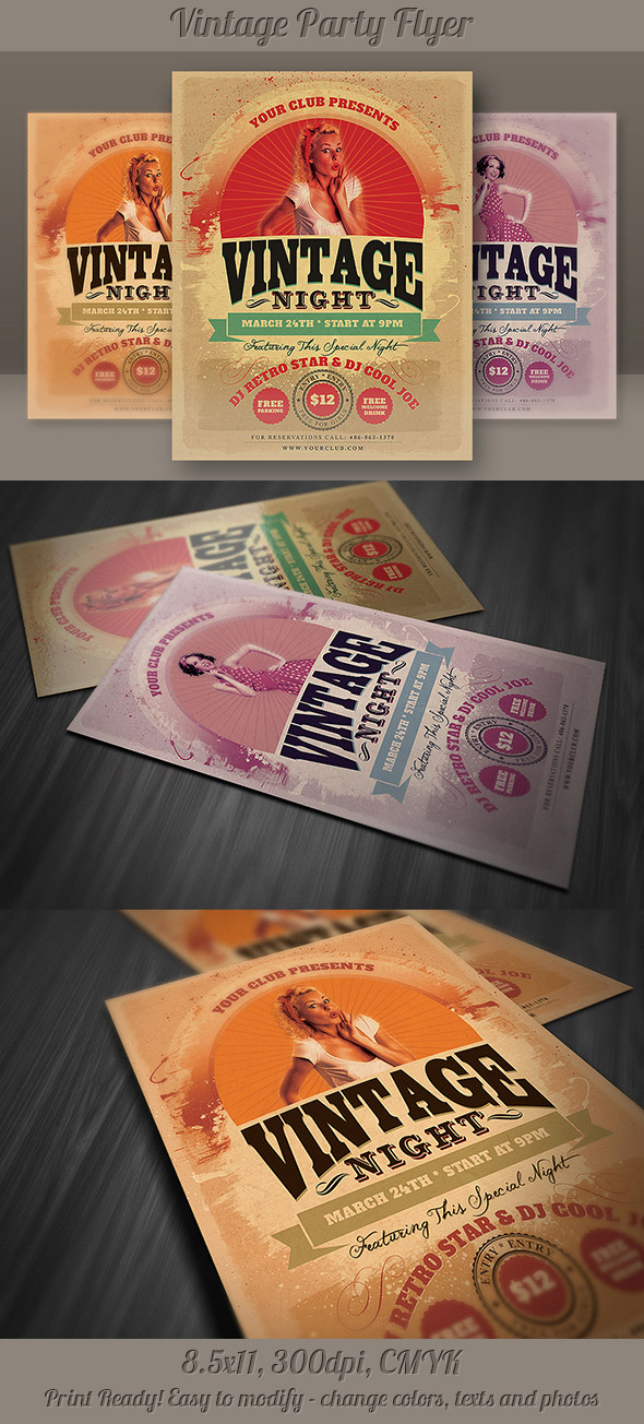 cruz2p4b New and creative party flyer templates