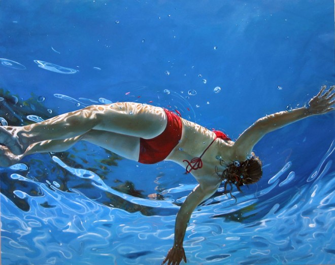 e136 25 Beautiful Underwater themed Oil Paintings for your inspiration