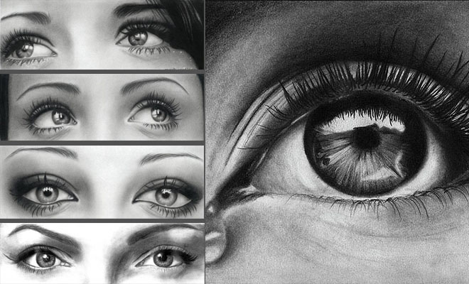 e205 40 Beautiful and Hyper Realistic Pencil Drawings of Human Eyes