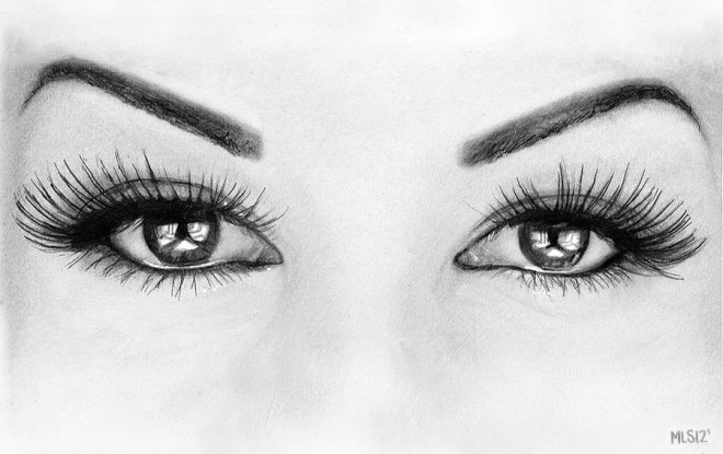 e206 40 Beautiful and Hyper Realistic Pencil Drawings of Human Eyes