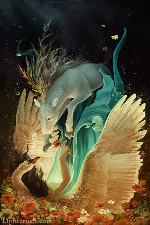 forgiveness Flying Creatures by Jenna Vincent