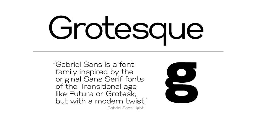 gabriel sans pr3 1 Gabriel Sans Font