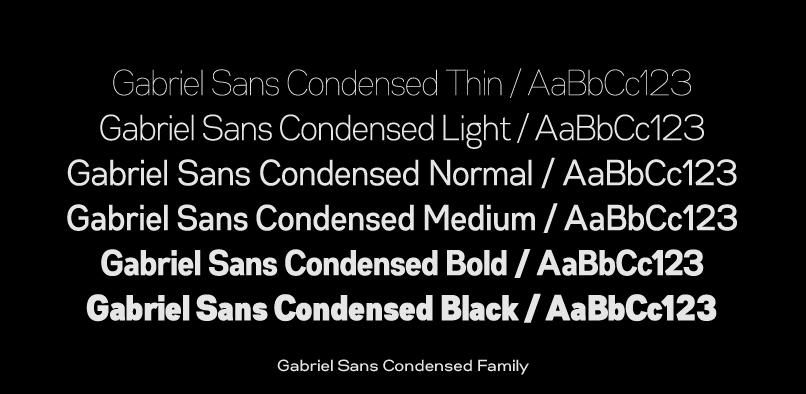gabriels3 Gabriel Sans Font