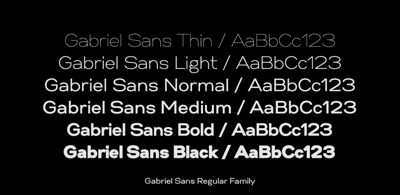 gabriels4 Gabriel Sans Font