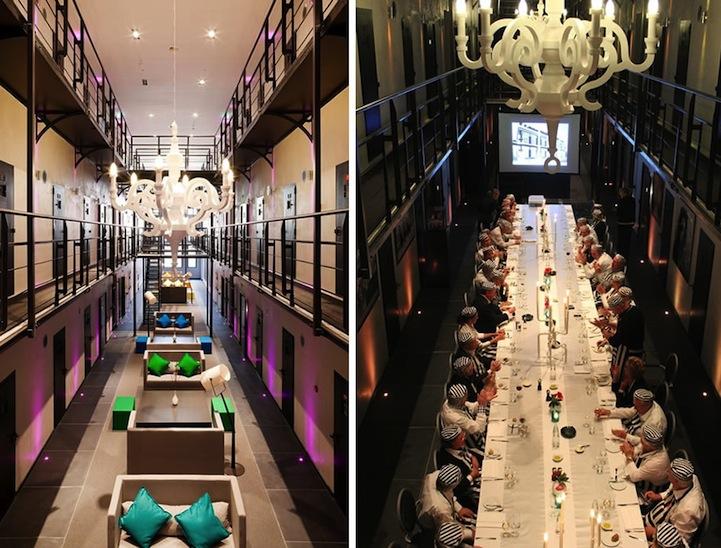 Former Dutch Prison Transformed Into a Luxury Hotel